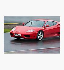 Ferrari 360 Modena Photographic Print
