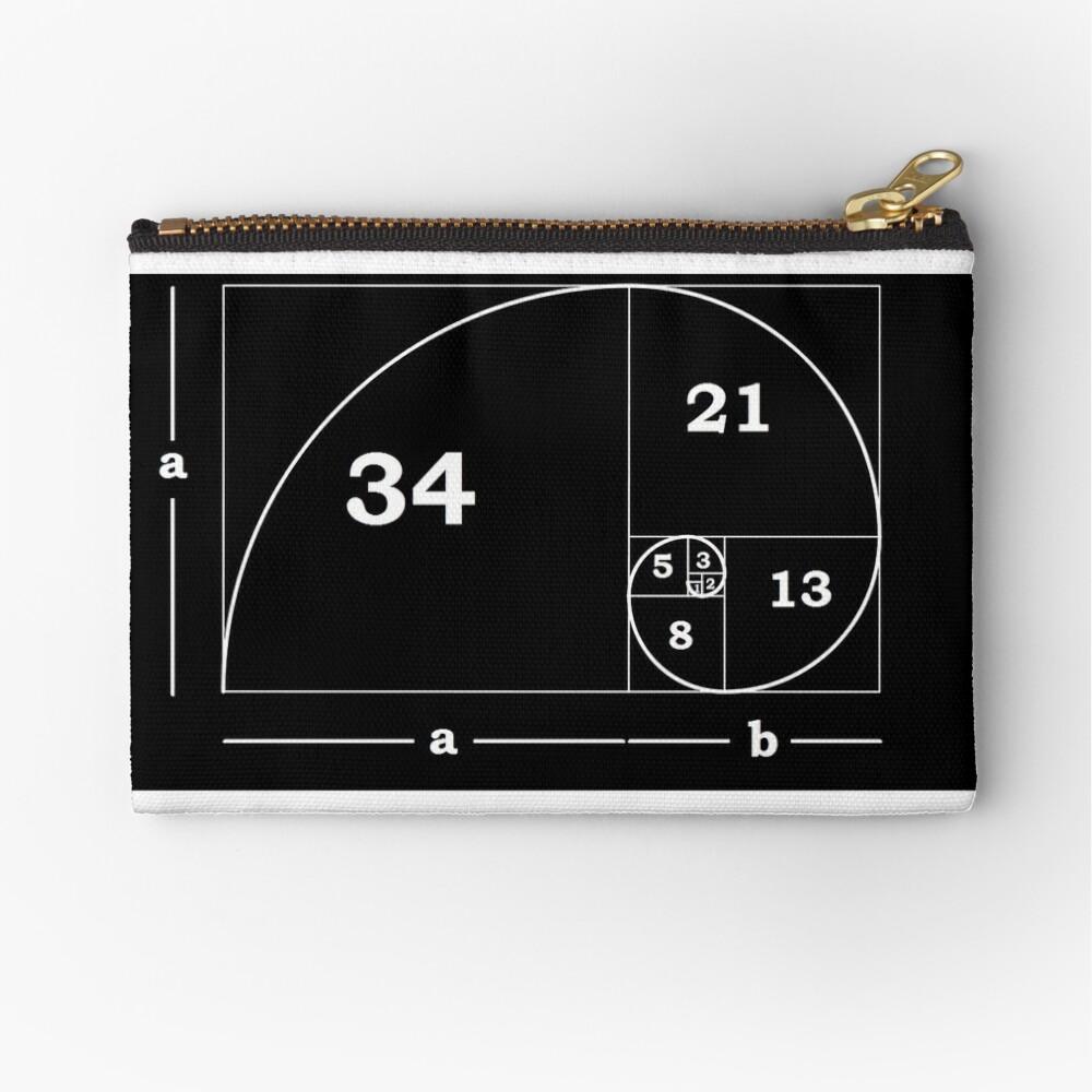 #Golden #Ratio #GoldenRatio #Design Ideas Fibonacci Spiral = 1.6180339887498948420 Zipper Pouch