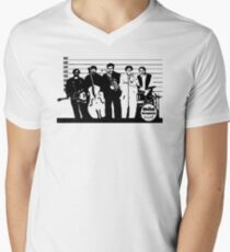 The Usual Suspects Band Men's V-Neck T-Shirt