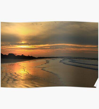 Peggs Beach , Nor West Tasmania , Australia Poster