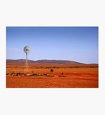 Water vane in the Outback Photographic Print
