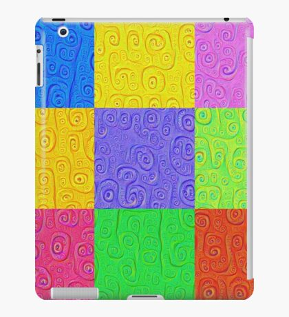 Deep Dreaming of a Color World 2K 2 iPad Case/Skin