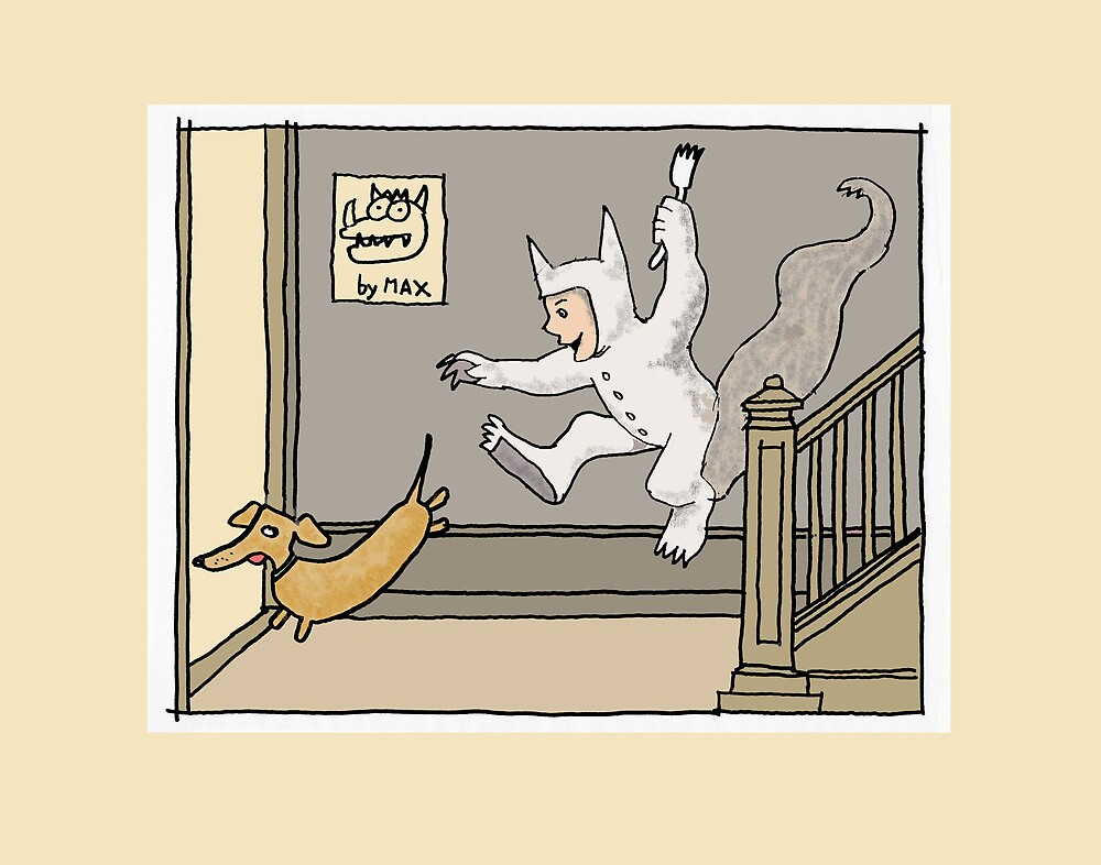 doggie trouble by davepockett