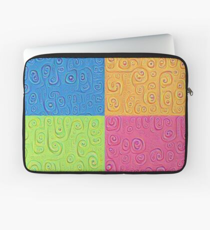 Deep Dreaming of a Color World 4K Saturation Laptop Sleeve