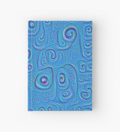 Deep Dreaming of a Blue World 4K Hardcover Journal