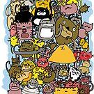 too many cats by davepockett