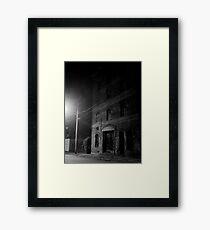abandoned warehouse Framed Print