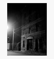 abandoned warehouse Photographic Print