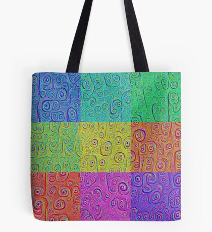 Deep Dreaming of a Color World 2K Tote Bag