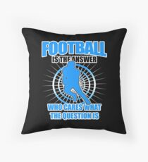Funny American Football Player Gift USA Sunday Floor Pillow