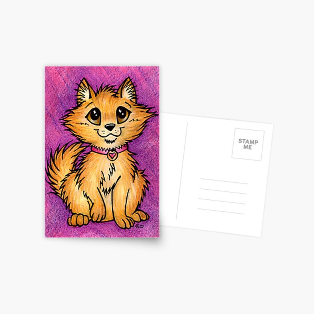 Pom Pup - Cute Little Pomeranian Postcard