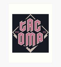 Tacoma Art Print