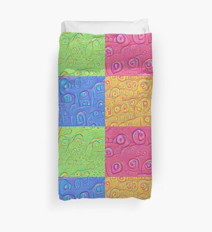 Deep Dreaming of a Color World 3K Duvet Cover
