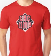 Tacoma but in red Slim Fit T-Shirt