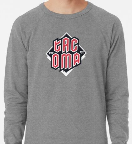 Tacoma but in red Lightweight Sweatshirt