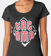 Tacoma but in red Premium Scoop T-Shirt