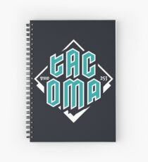 Copy of Tacoma but in teal! Spiral Notebook
