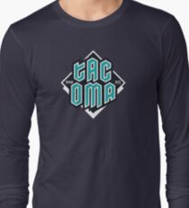 Copy of Tacoma but in teal! Long Sleeve T-Shirt