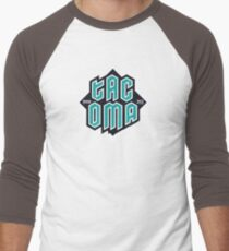 Copy of Tacoma but in teal! Baseball ¾ Sleeve T-Shirt