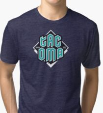 Copy of Tacoma but in teal! Tri-blend T-Shirt