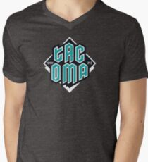 Copy of Tacoma but in teal! V-Neck T-Shirt