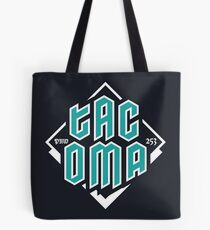 Copy of Tacoma but in teal! Tote Bag