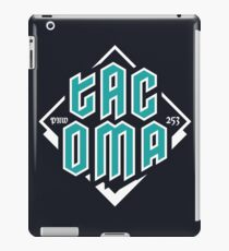Copy of Tacoma but in teal! iPad Case/Skin