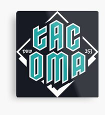 Copy of Tacoma but in teal! Metal Print