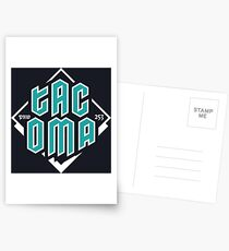 Copy of Tacoma but in teal! Postcards