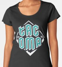 Copy of Tacoma but in teal! Premium Scoop T-Shirt