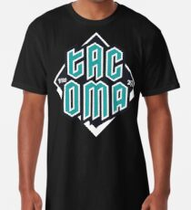 Copy of Tacoma but in teal! Long T-Shirt
