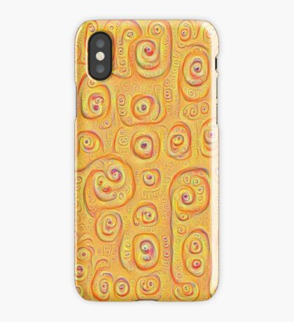 Deep Dreaming of a Yellow-Orange World 4K iPhone Case