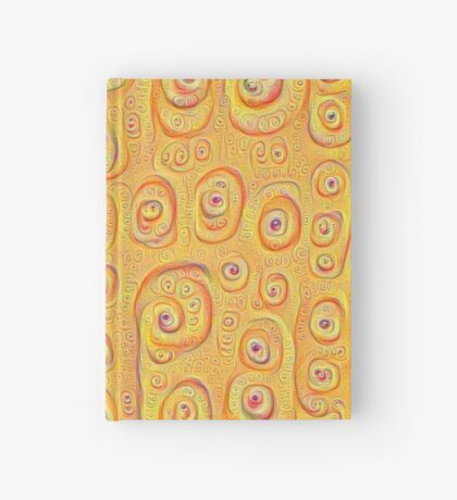 Deep Dreaming of a Yellow-Orange World 4K Hardcover Journal