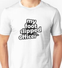 "''My foot slipped officer"" - JDM Decal T-Shirt"