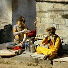 Sadhus by Harry Oldmeadow