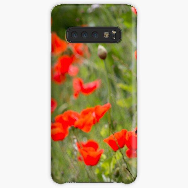 Poppies Samsung Galaxy Snap Case