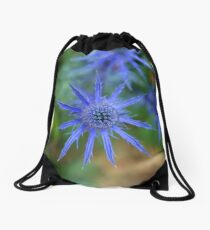 Sea Holly Drawstring Bag