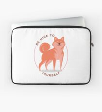 Be Nice to yourself Laptop Sleeve