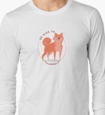 Be Nice to yourself Long Sleeve T-Shirt