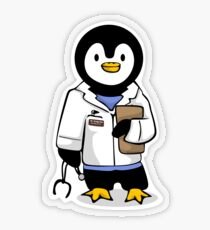 Dr. Pengy San Transparent Sticker