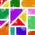 Colourful Christmas by Aerhona