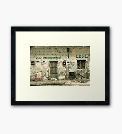El Colmenar Framed Print