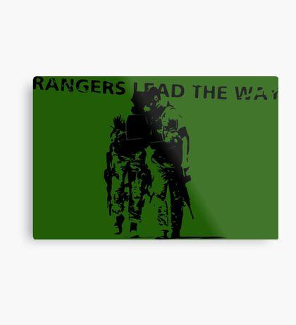 Rangers Lead the Way - U.S. Army  Metal Print
