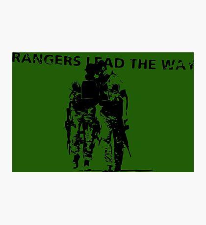 Rangers Lead the Way - U.S. Army  Photographic Print