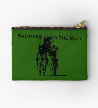 Rangers Lead the Way - U.S. Army  Zipper Pouch