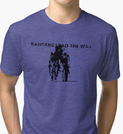 Rangers Lead the Way - U.S. Army  Tri-blend T-Shirt