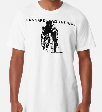 Rangers Lead the Way - U.S. Army  Long T-Shirt