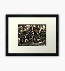 TRIAL BIKES Framed Print