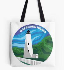 Ocracoke Leuchtturm - Tageszeit Tote Bag