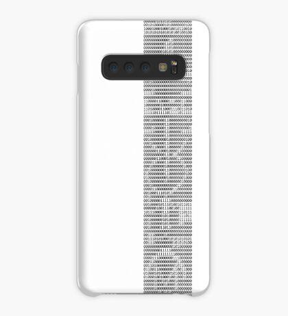 The Arecibo Message 0010 - Terminal Case/Skin for Samsung Galaxy
